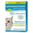 VETOFORM ANTIPARASITAIRE COLLIER CHAT & CHATON 35CM