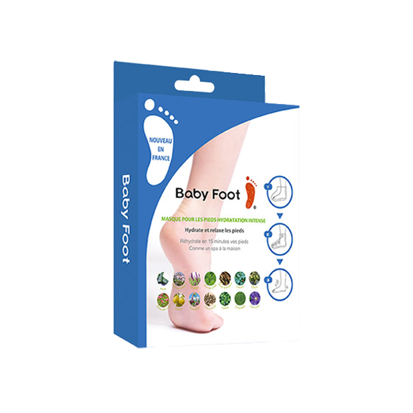 Baby Foot Masque pour les Pieds Hydratation Intense
