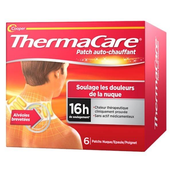 Thermacare Patch Chauffant Cou Nuque Poignet 6 unités