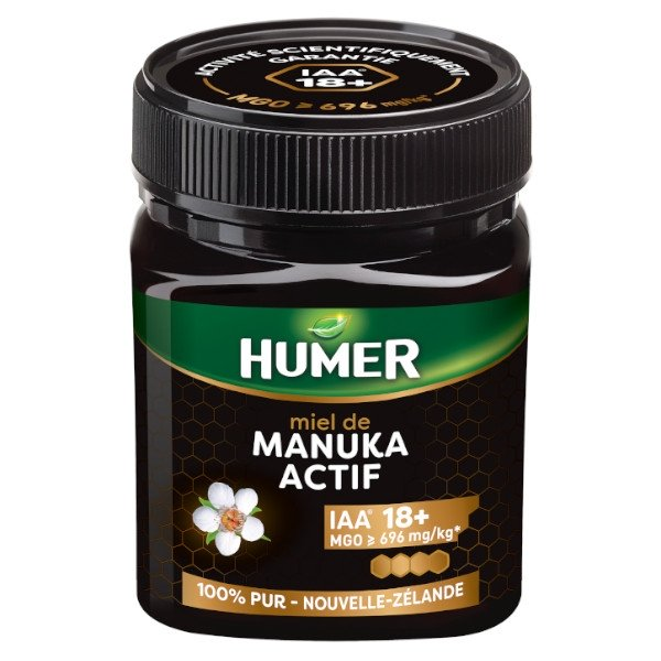 Humer Miel de Manuka Actif 18+ 250g