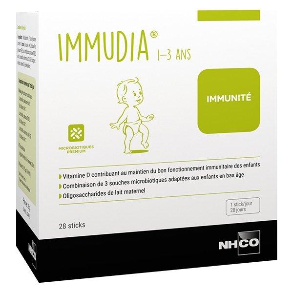 Nhco Optimage Immudia 1-3 ans Immunité 28 sticks