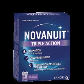 Novanuit Sommeil Triple Action 30 gélules pas cher