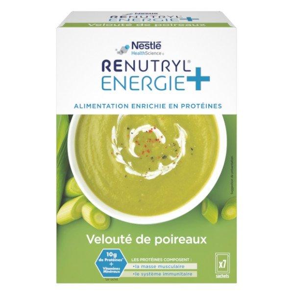 Renutryl Energie + Velouté de Poireaux 7 sachets