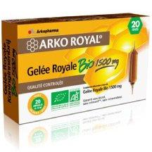 Arkofluides Gelée Royale Bio 1500mg 20 ampoules
