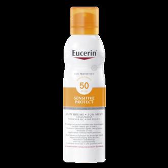 Eucerin Sun Protection Sensitive Protect Brume Transparente SPF50 200ml