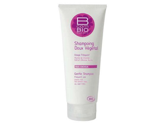 B com BIO Shampooing Doux Végétal Tous Cheveux 200ml
